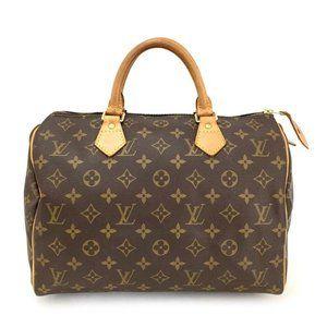 💯 Auth Louis Vuitton Speedy 30 Boston Hand bag